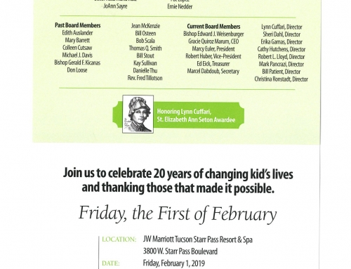 Help Us Celebrate 20 Years of Educational Excellence